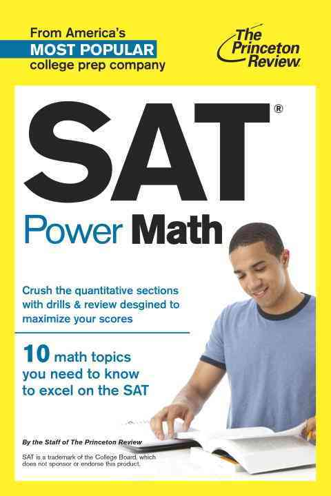 Sat Power Math By Princeton Review (COR)