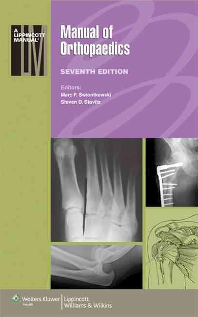 Manual of Orthopaedics By Swiontkowski, Marc